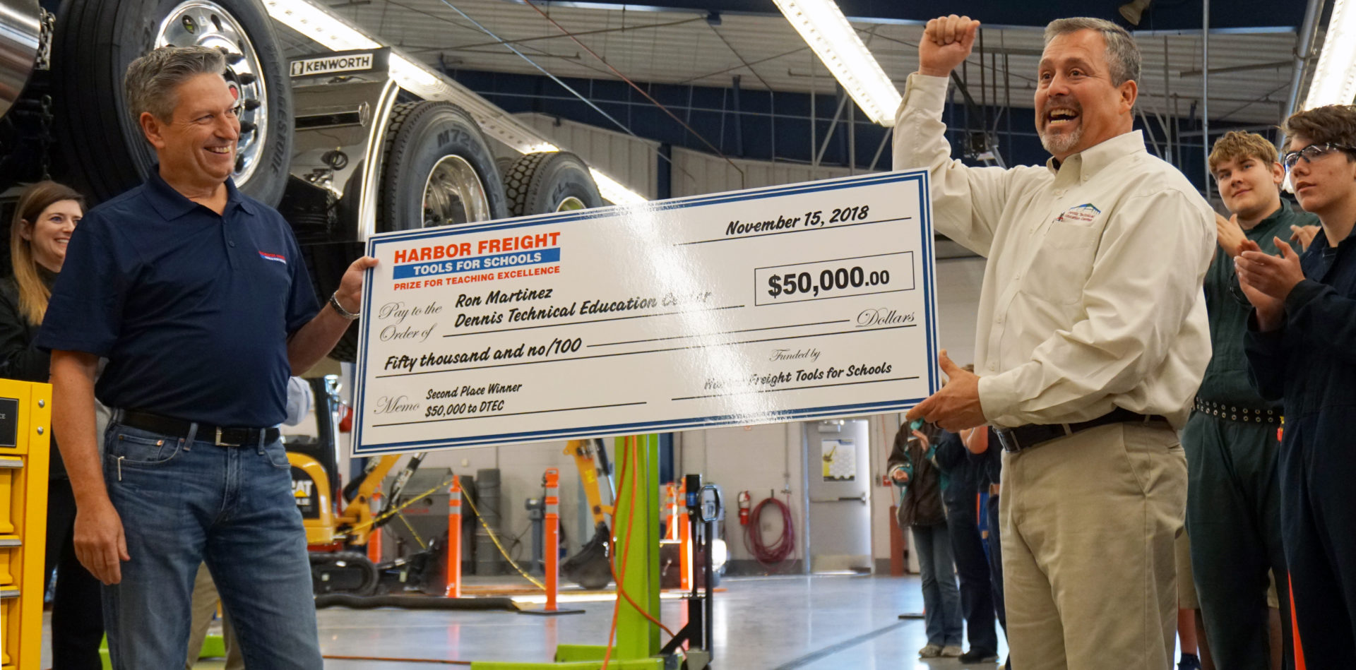 Teacher surprised with $50,000
